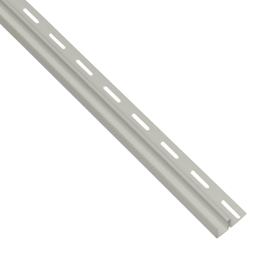 Georgia-Pacific Vinyl Siding 0.5-in x 150-in Thistle/Pebble F-Trim Vinyl Siding Trim
