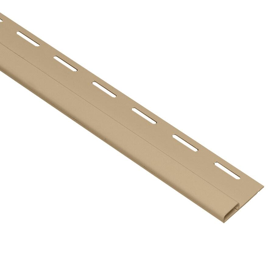 0.375-in x 150-in Hazelnut/Pebble Undersill Vinyl Siding Trim