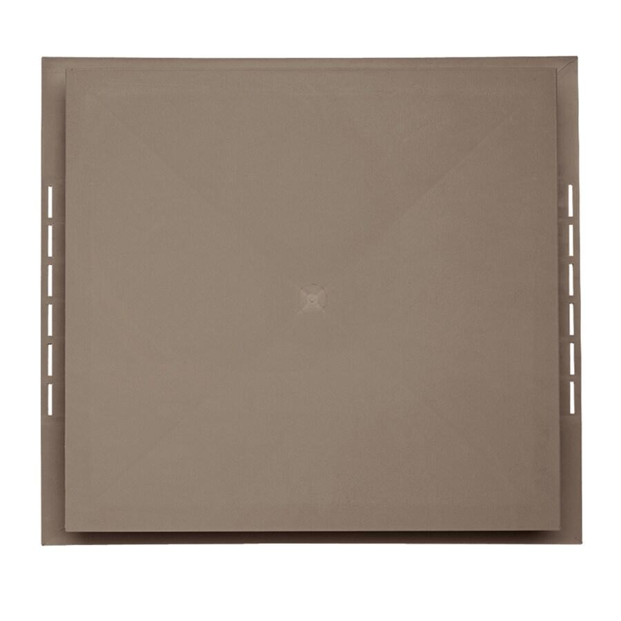 18.5-in x 16.75-in Hearthstone Brown Vinyl Universal Mounting Block