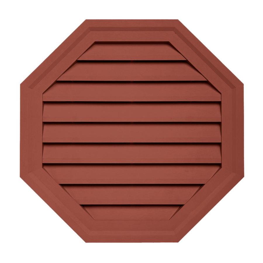 18-in x 18-in Hampton Red Vinyl Universal Mounting Block