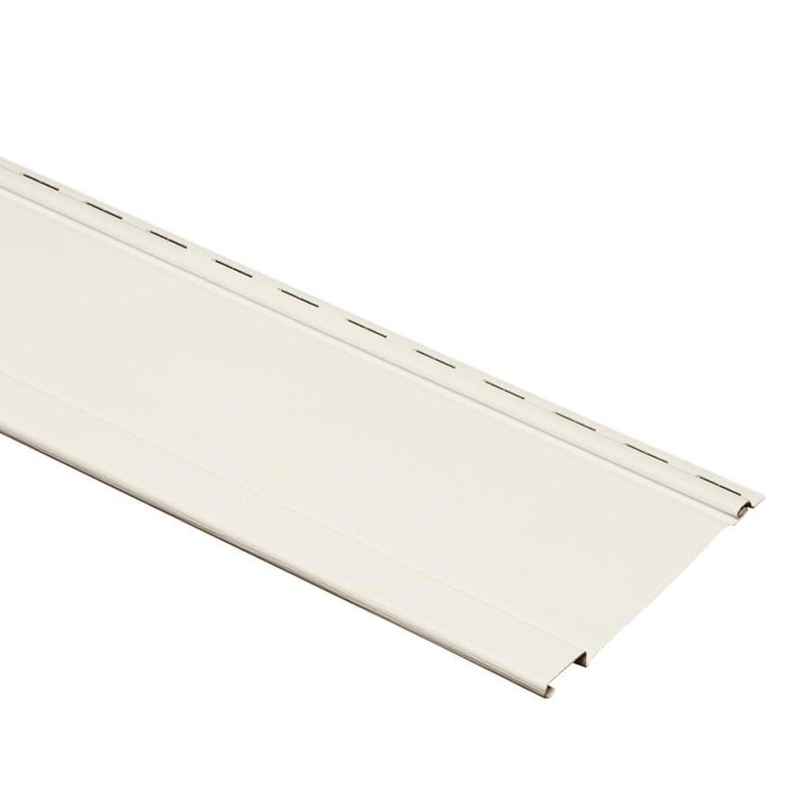 shop 7 in x 120 in pearl and wood grain board and batten