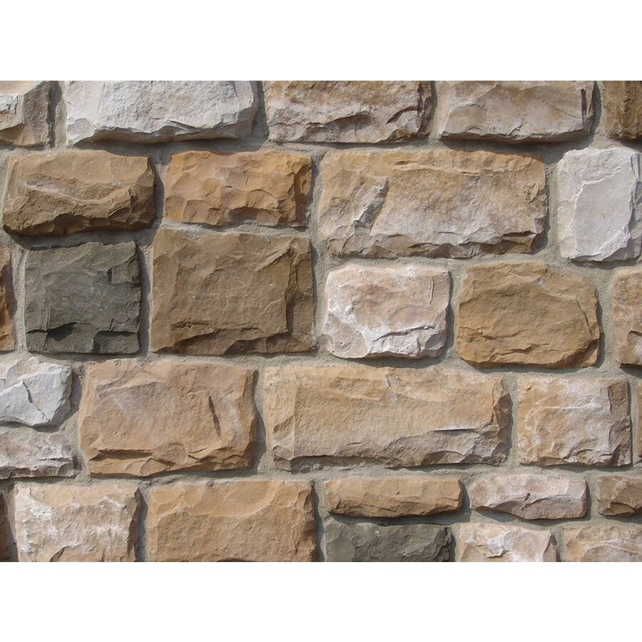 Ply Gem Stone Cut Cobblestone 10-sq ft Autumn Faux Stone Veneer