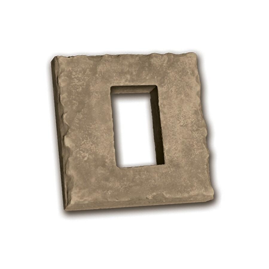 Ply Gem Stone 2-in x 8-in Country Receptacle Boxes Stone Veneer Trim