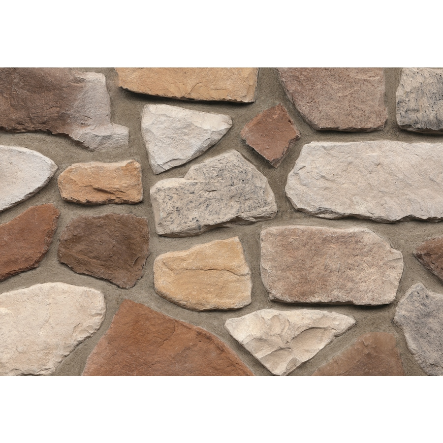 Ply Gem Stone Fieldstone 10-sq ft Columbia Faux Stone Veneer