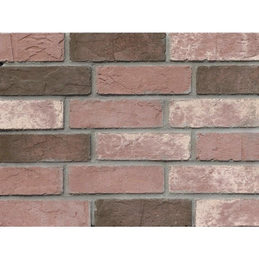 Ply Gem Stone 3.75-in x 7.75-in Fulton Individual Piece Brick Veneer