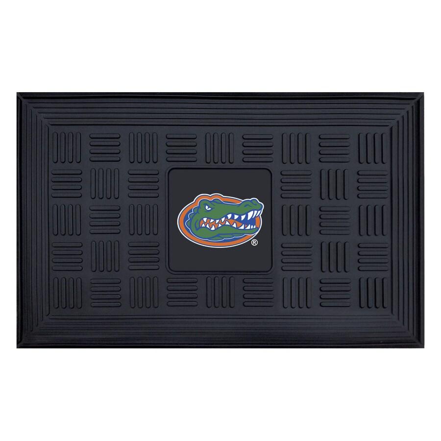 FANMATS Black University Of Florida Rectangular Door Mat (Common: 19-in x 30-in; Actual: 19-in x 30-in)