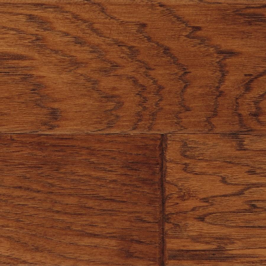 LM Flooring Cabin Creek 5-in W x 48-in L Hickory Engineered Hardwood Flooring