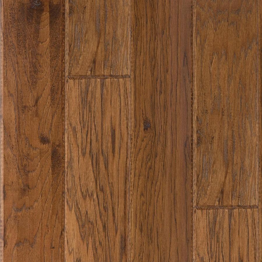 LM Flooring Hickory Hardwood Flooring Sample (Autumn)