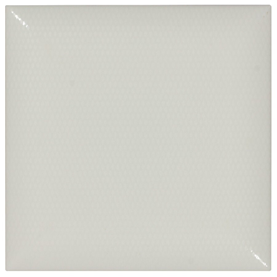 Elida Ceramica Leathered Caprice Subway Ceramic Wall Tile (Common: 6-in x 6-in; Actual: 5.9-in x 5.9-in)