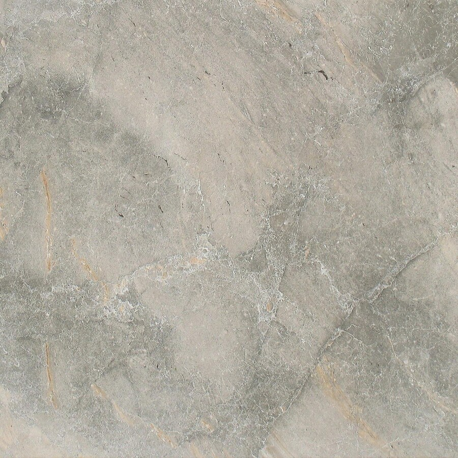 FLOORS 2000 Bari 7-Pack Gris Porcelain Floor and Wall Tile (Common: 18-in x 18-in; Actual: 17.72-in x 17.72-in)