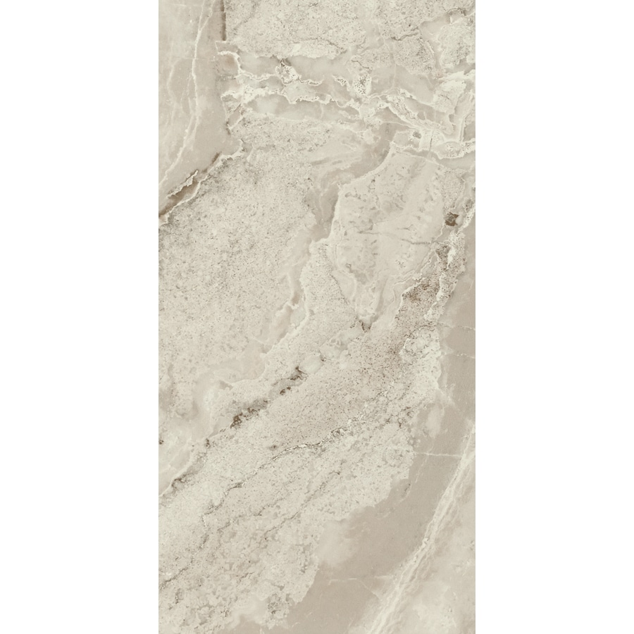 FLOORS 2000 Aura 6-Pack Gris Porcelain Floor and Wall Tile (Common: 12-in x 24-in; Actual: 23.63-in x 11.81-in)