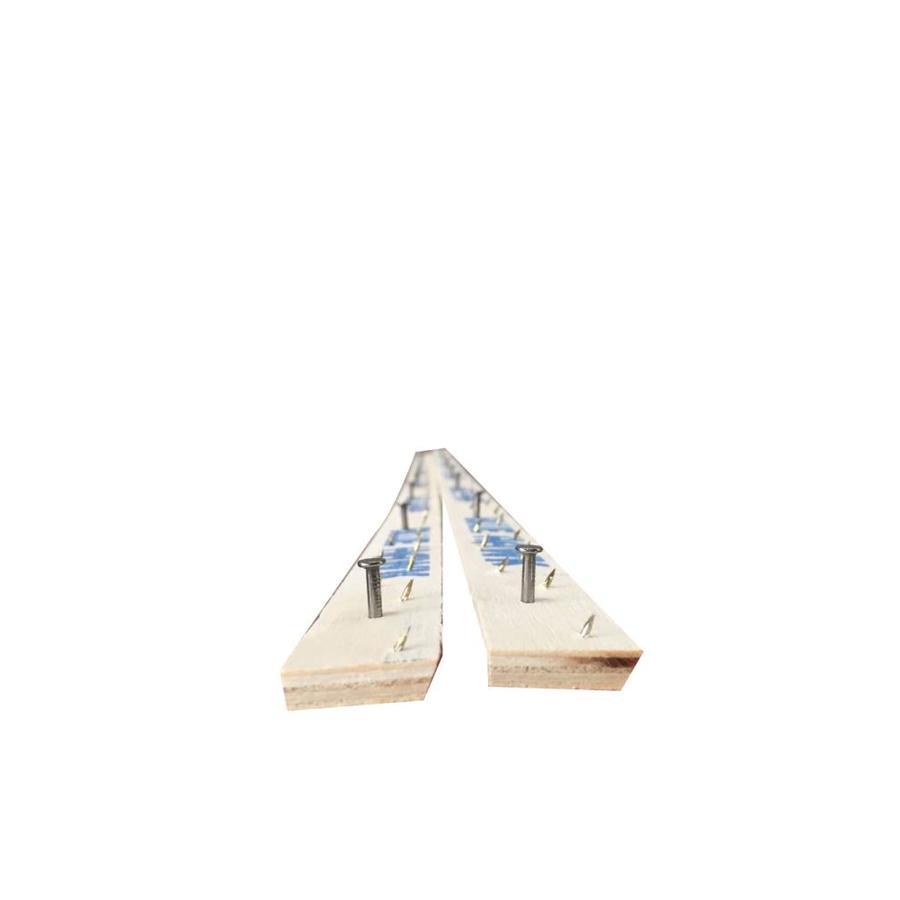 Blue Hawk Concrete Tack Strip Taiwan Nail (Carb) 100 PiecesStrip Dimension