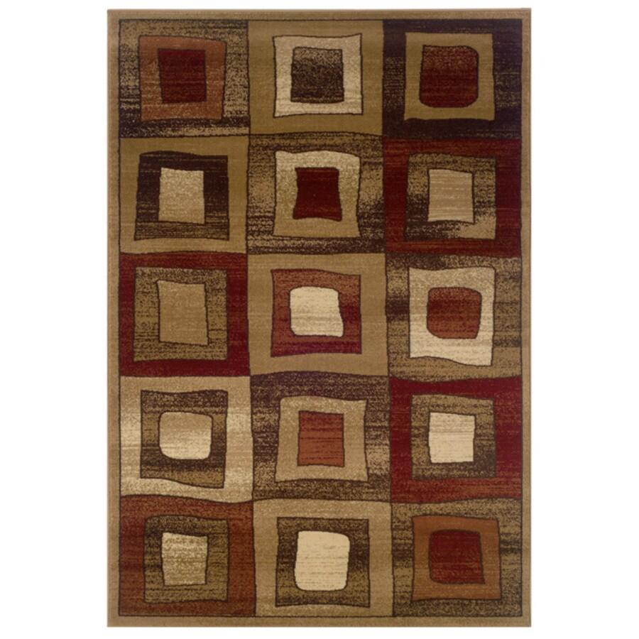 L.R. Resources Adana Rectangular Indoor Woven Area Rug (Common: 8 x 10; Actual: 95-in W x 119-in L)