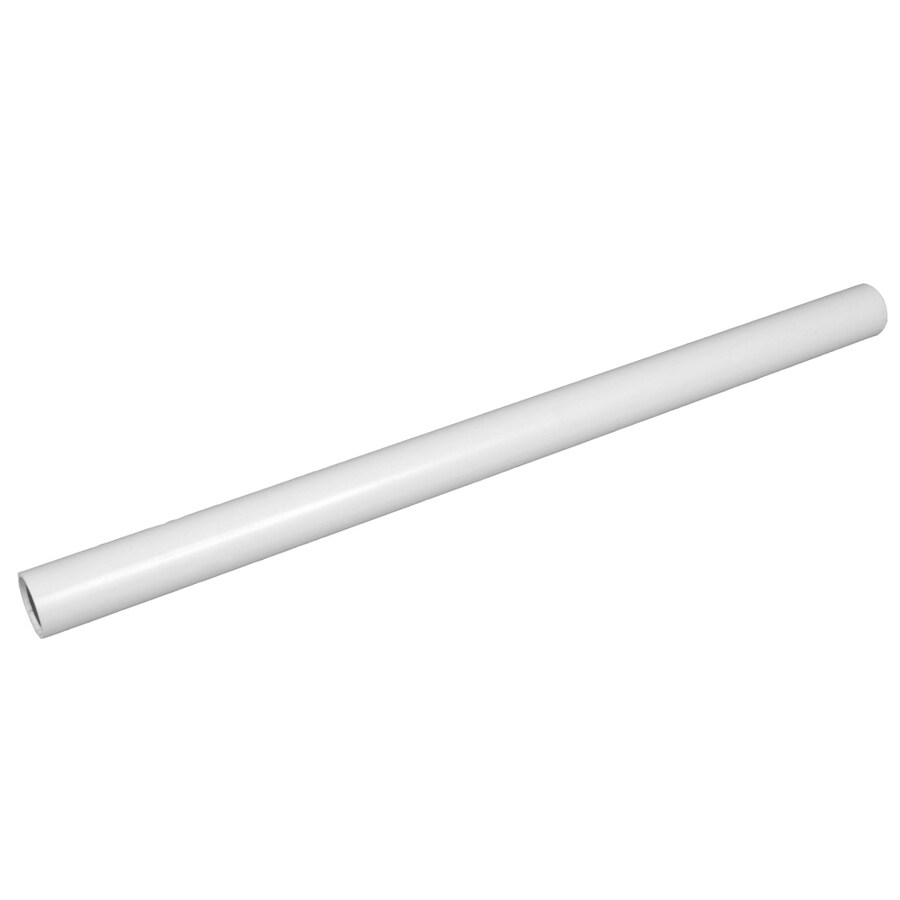 Fiberon HomeSelect ADA White Stainless Steel Deck Handrail (Common: 8.8-ft; Actual: 1.5-in x 1.5-in x 8.8-ft)