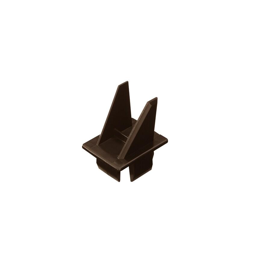 Fiberon Homeselect Chestnut Brown PVC Baluster Adapter