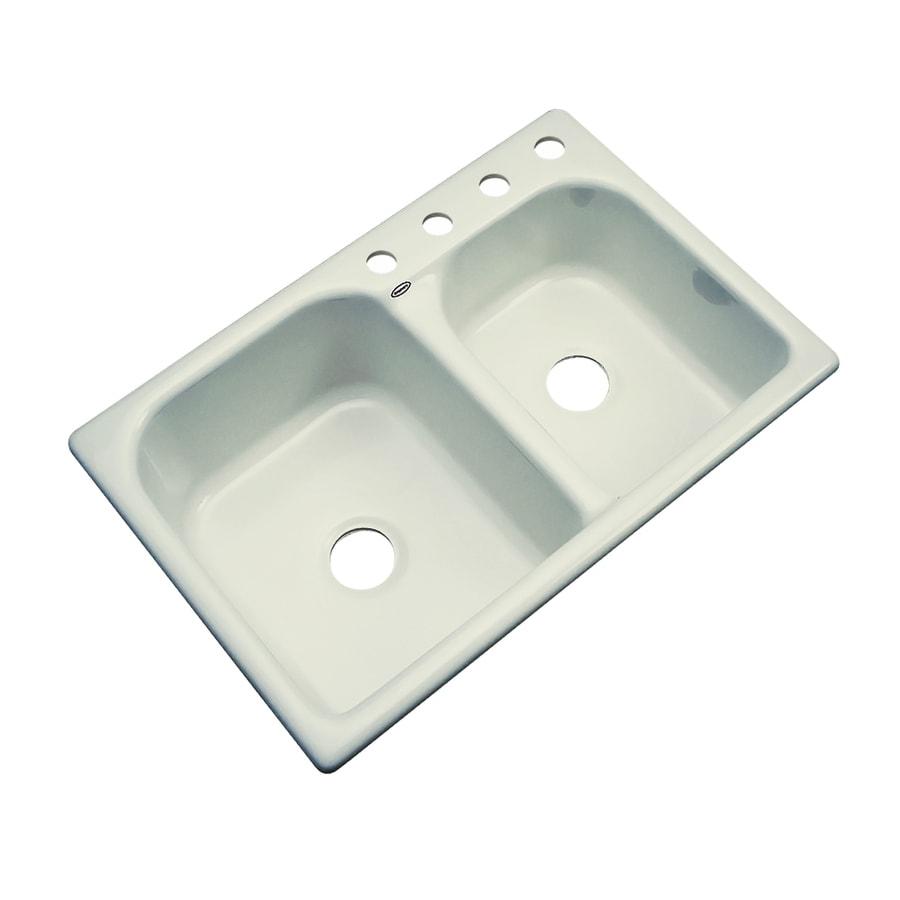 Acrylic Kitchen Sinks : acrylic kitchen sink dekor master double basin drop in acrylic kitchen ...
