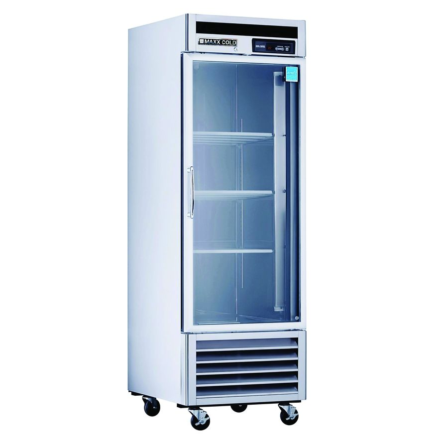 ... Commercial Refrigerator (Stainless with Glass Door) at Lowes.com