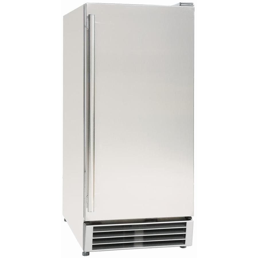 Shop Maxx Ice 3 Cu Ft Freezerless Refrigerator Stainless