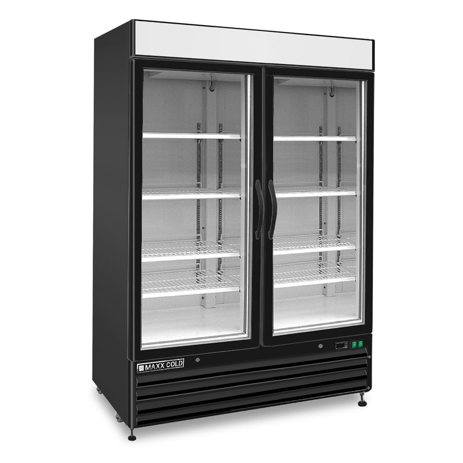 Maxx Cold 48-cu ft Frost-Free Freestanding Commercial Upright Freezer (Black)
