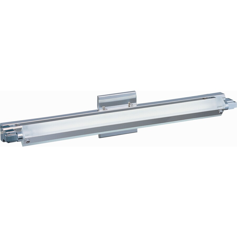Pyramid Creations Pivot 27-in W 1-Light Polished Chrome Arm Hardwired Wall Sconce