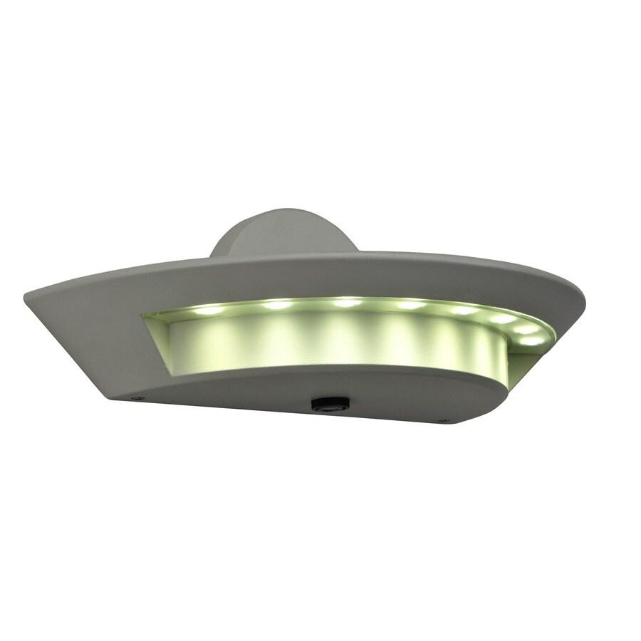 Utilitech 24-Watt White LED Dusk-to-Dawn Flood Light