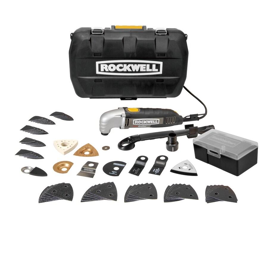 ROCKWELL 73-Piece 2.3-Amp Oscillating Tool Kit