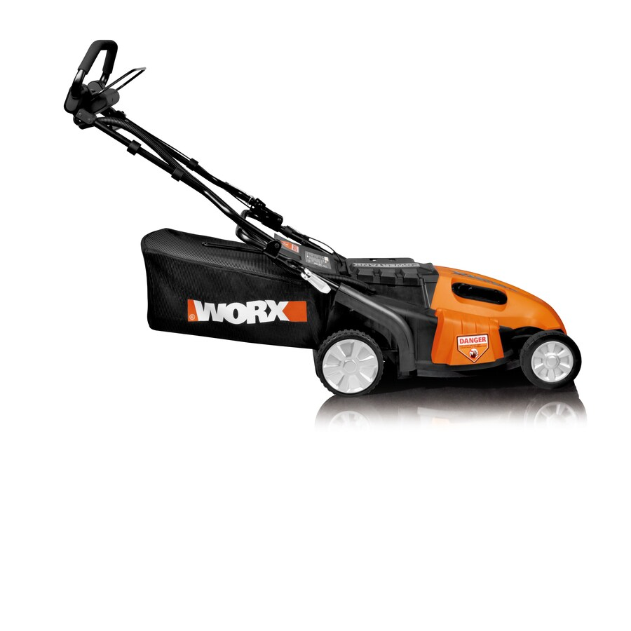 WORX Intellicut 36-Volt 19-in Deck Width Cordless Electric Self-Propelled Push Lawn Mower with Mulching Capability