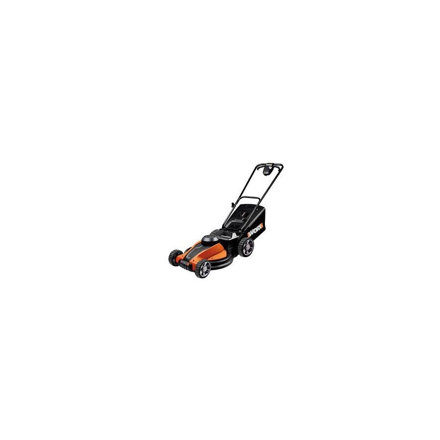 WORX IntelliCut 24-Volt 17-in Cordless Electric Push Lawn Mower with Mulching Capability