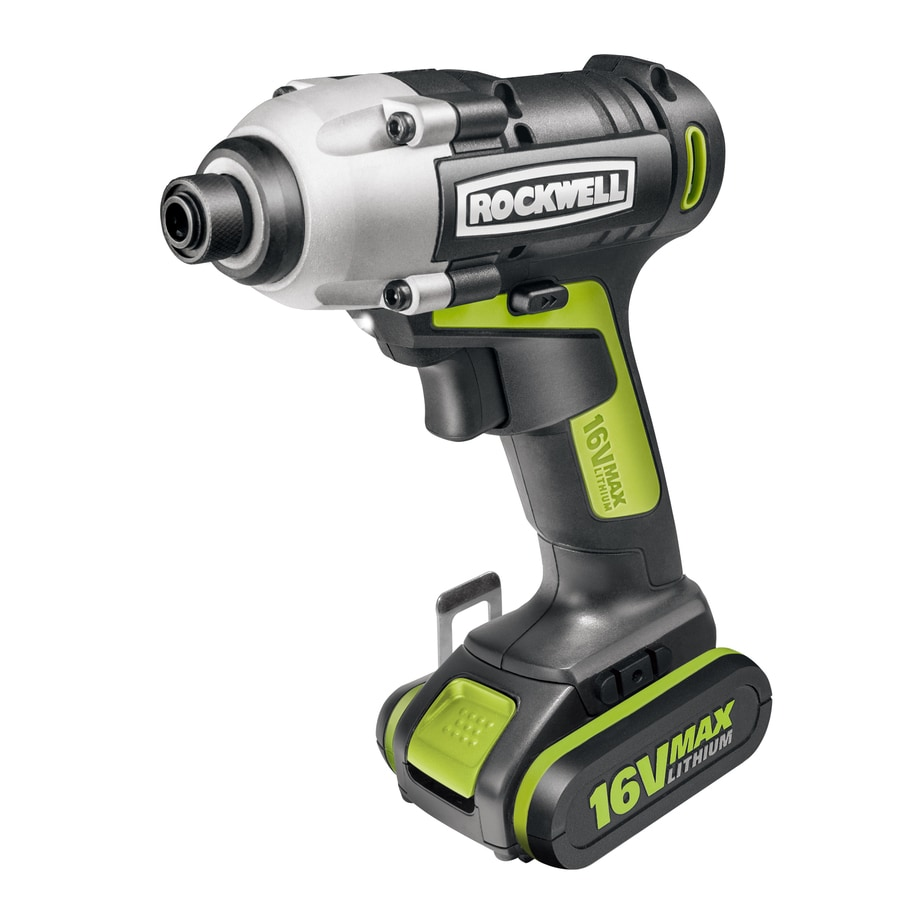 ROCKWELL 16-Volt 3/8-in Cordless Variable Speed Impact Driver
