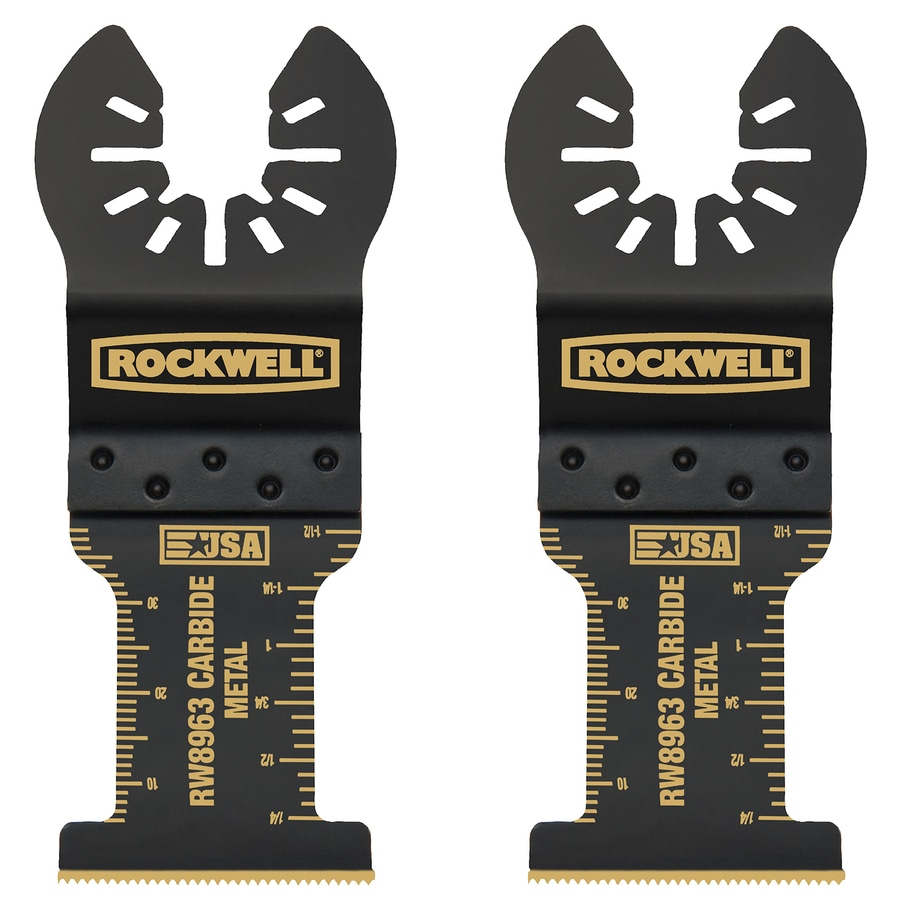 ROCKWELL 2-Pack Carbide Oscillating Tool Blades