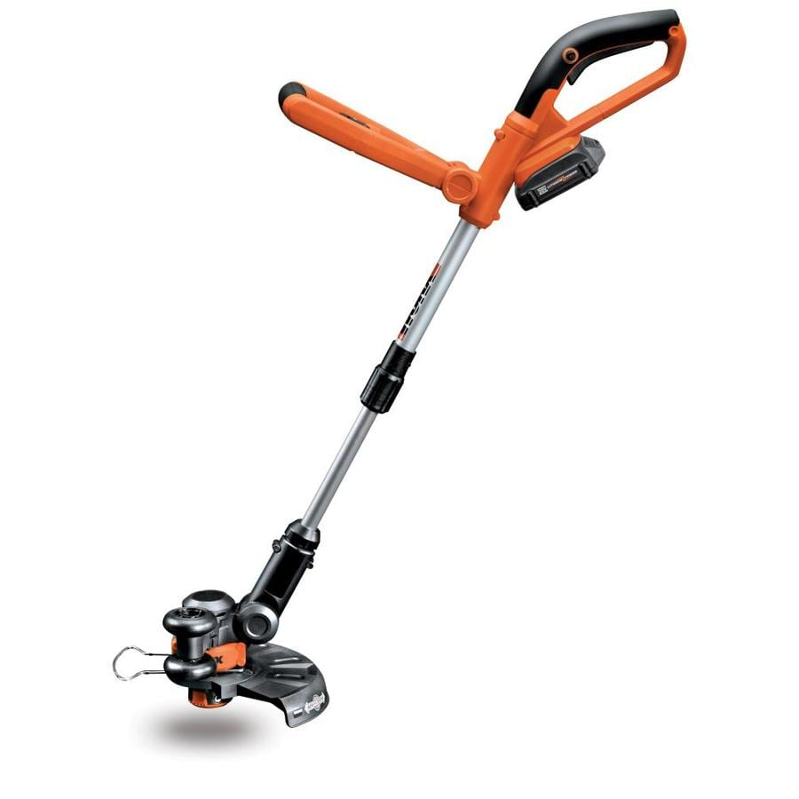 WORX 20-Volt 10-in Straight Cordless String Trimmer and Edger