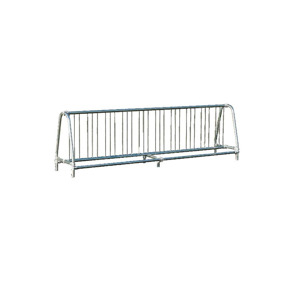 Ultra Play 10-ft L x 26-in D x 37-in H 20-Bike Galvanized Steel Bike Rack