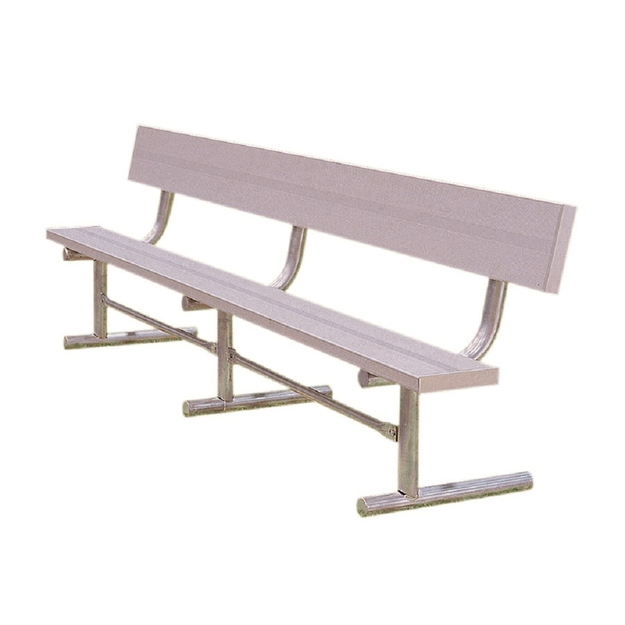Shop Ultra Play 180 In L Aluminum Park Bench At