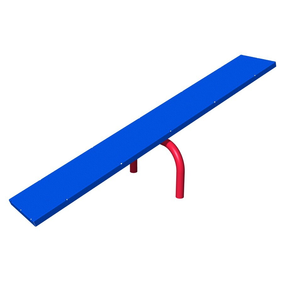 Ultra Play Blue and Red Dog Park Teeter-Totter