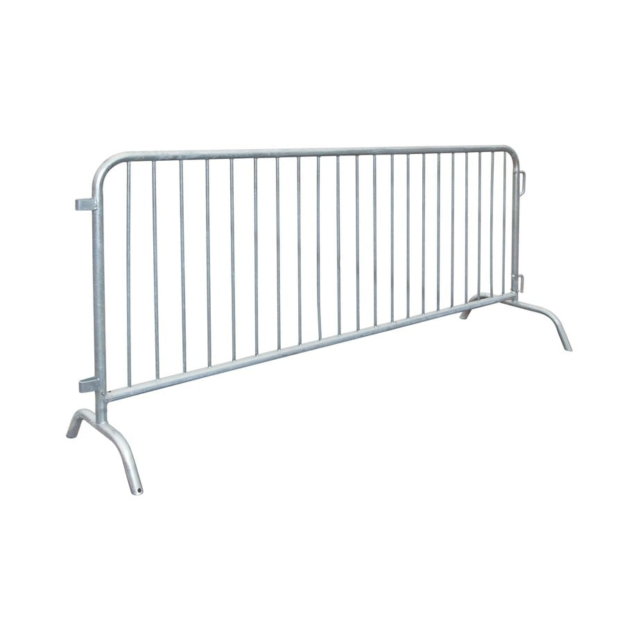 Ultra Play Ultrasite 42-in x 8-ft Galvanized Steel Portable Crowd Control Barrier