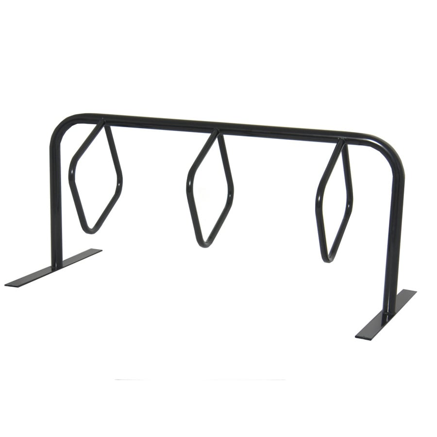 Ultra Play 6-ft 3-in L x 3-in D x 34-in H 6-Bike Steel Bike Rack