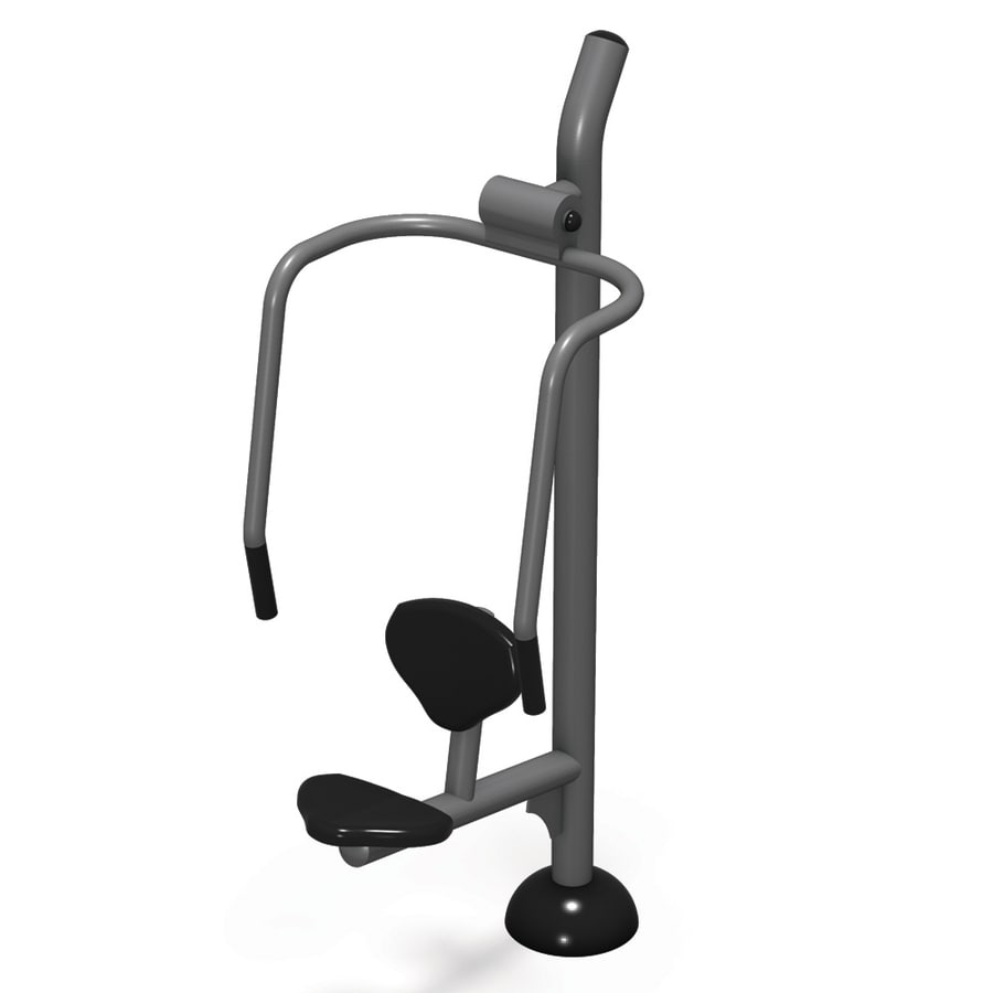 Ultra Play FitTech Footing Mount Magnetic-Resistant Incline Chest Press Machine