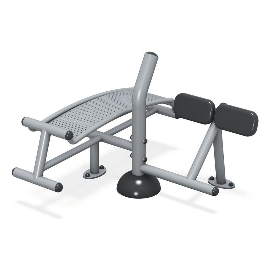 Ultra Play Fittech In-Ground Mount Dual Sit-Up/Back Extension