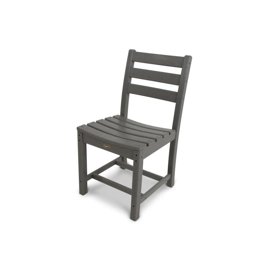 Trex Outdoor Furniture Monterey Bay Stepping Stone Plastic Patio Dining Chair