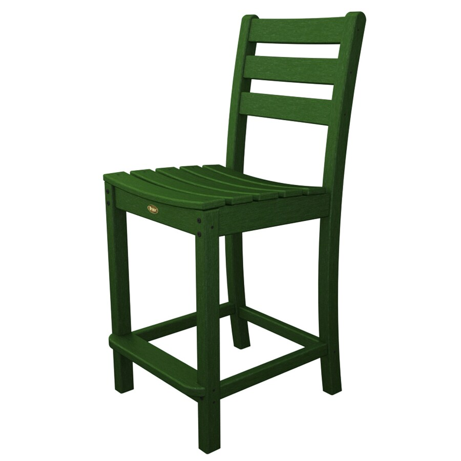 Trex Outdoor Furniture Monterey Bay Rainforest Canopy Plastic Patio Dining Chair