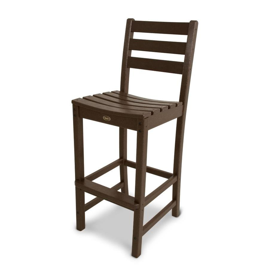 Trex Outdoor Furniture Monterey Bay Vintage Lantern Plastic Patio Barstool Chair