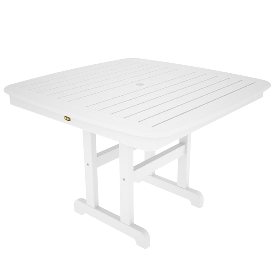 Bedroom Furniture Range White Outdoor Dining Table
