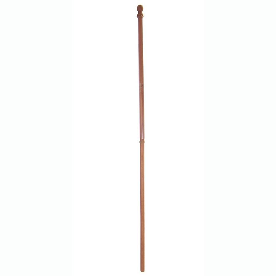 Wooden Flag Pole
