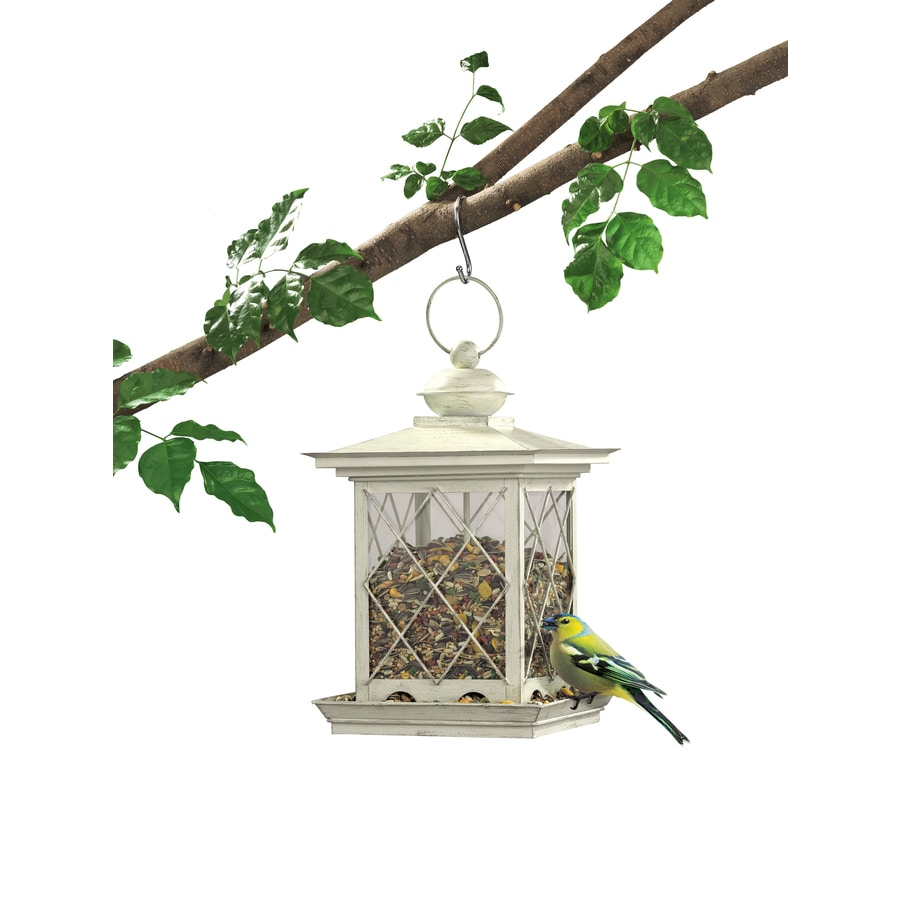 Garden Treasures Glass Hopper Bird Feeder