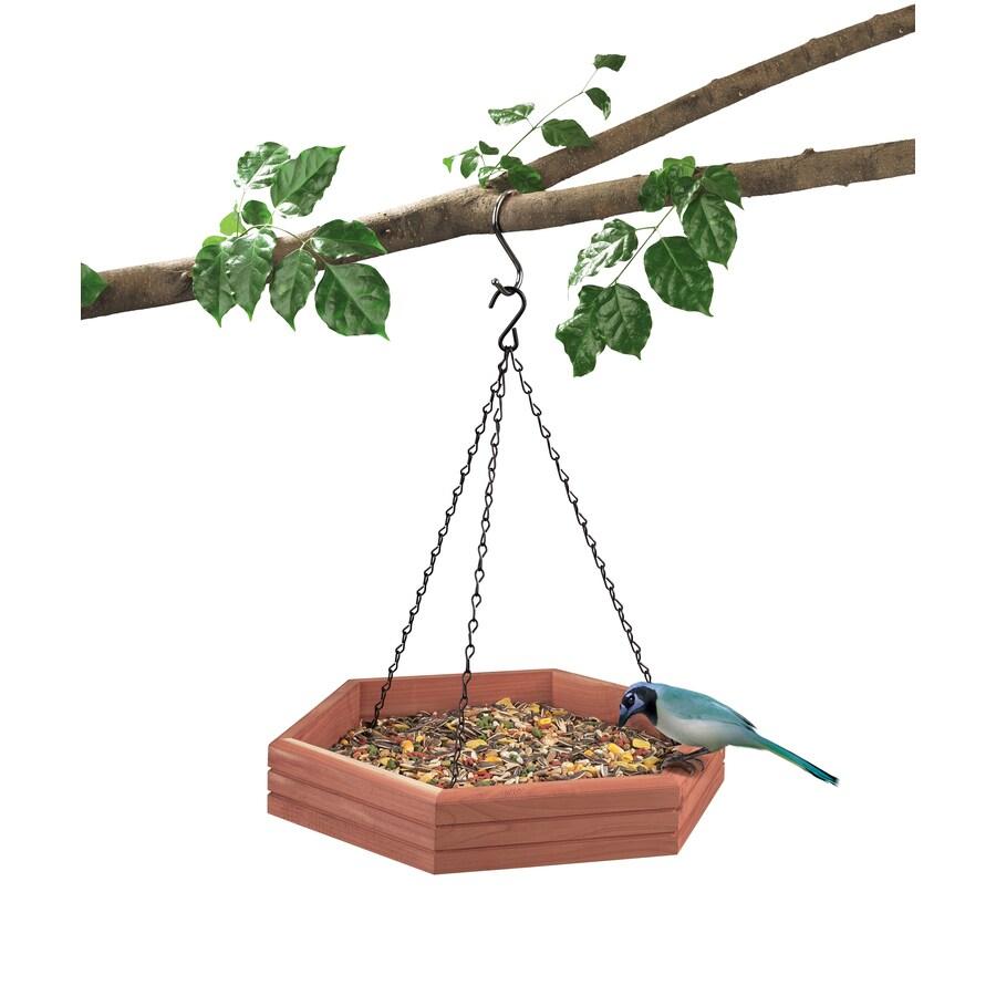 Garden Treasures Wood Platform Bird Feeder
