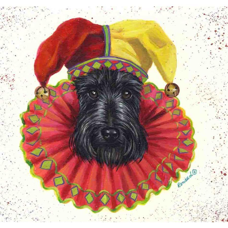 Precious Pet Paintings 1.5-ft x 1.04-ft Scottish Terrier  Flag