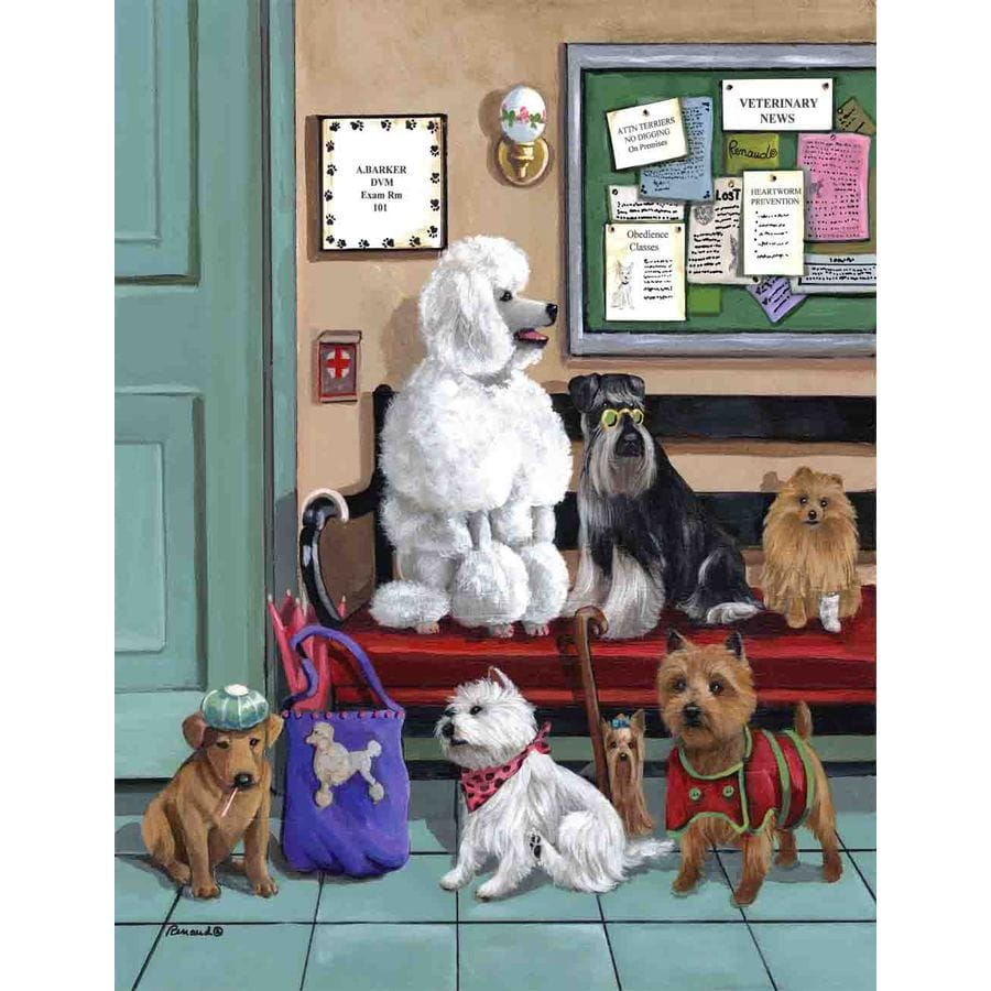 Precious Pet Paintings 1.5-ft x 1.04-ft Multi-Breed Dogs Flag