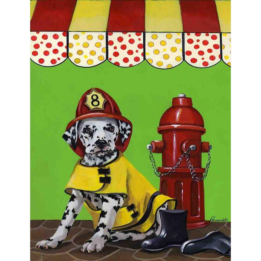 Precious Pet Paintings 3.33-ft x 2.33-ft Dalmatian  Flag