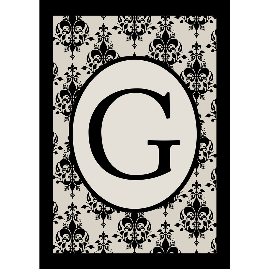 1.5-ft x 1.04-ft G Monogram Flag