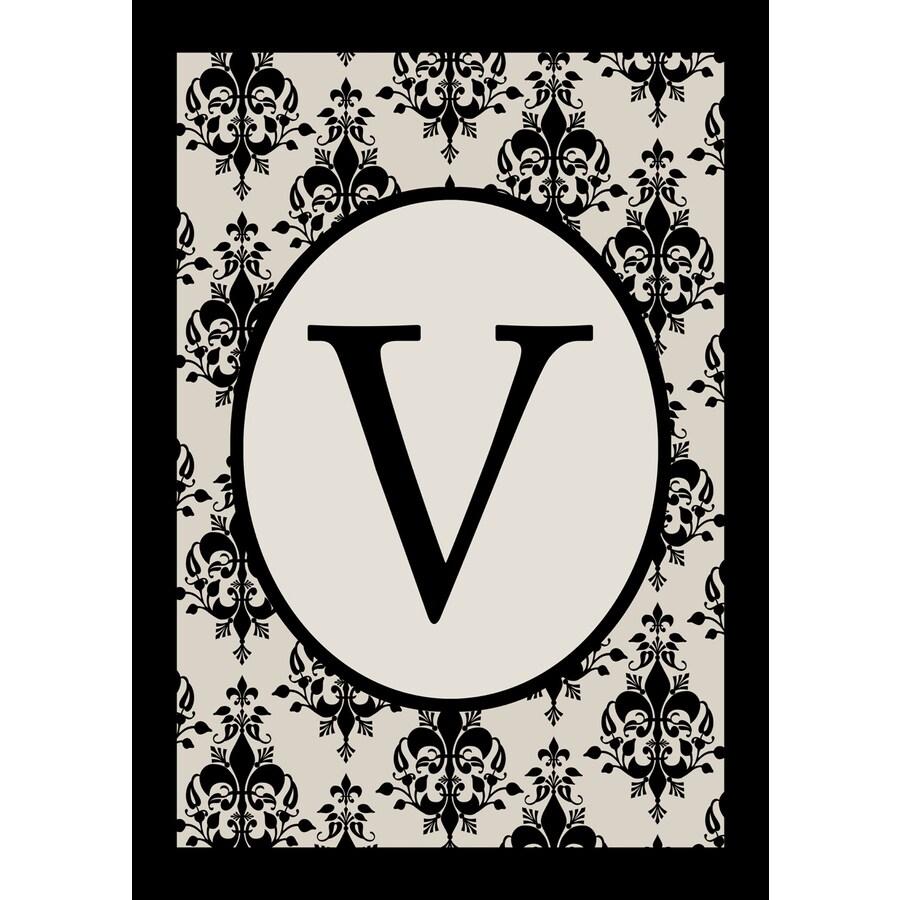 1.5-ft x 1.04-ft V Monogram Flag